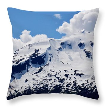 Home Of The North Wind - Skagway Throw Pillow