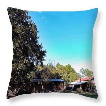 Home-place II Throw Pillow