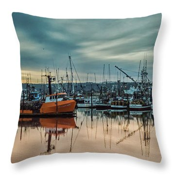 Home Port Throw Pillow