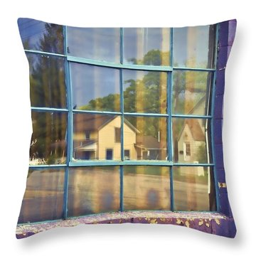 Home Sweet Home Throw Pillow by John Hansen