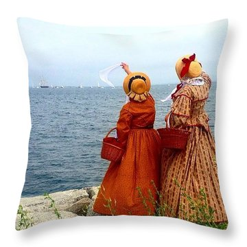 Home Sweet Home Throw Pillow by Kate Arsenault