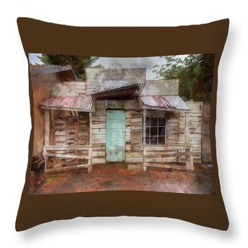 Home Sweet Home Throw Pillow by Thom Zehrfeld