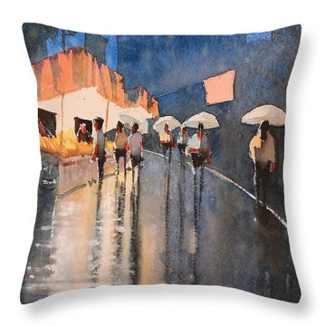 Home Time Throw Pillow by Gareth Naylor