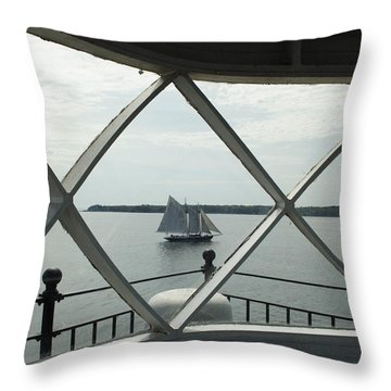 Home To Rockland Throw Pillow