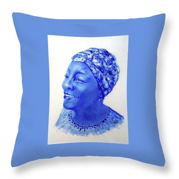 home To Zimbabwe Throw Pillow