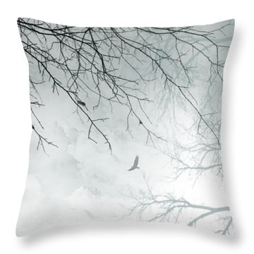 Throw Pillow featuring the digital art Home by Trilby Cole