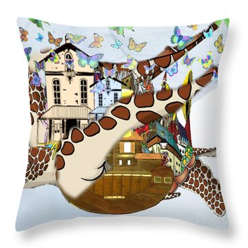 Home Within Home Throw Pillow