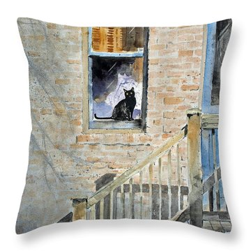Homecoming Throw Pillow by Monte Toon