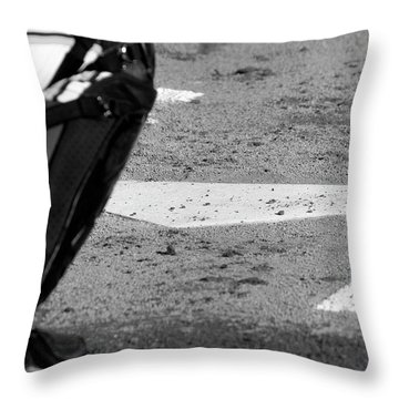 Homeland Security Throw Pillow by Laddie Halupa