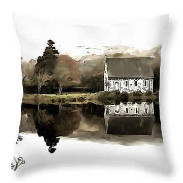 Homely House Throw Pillow