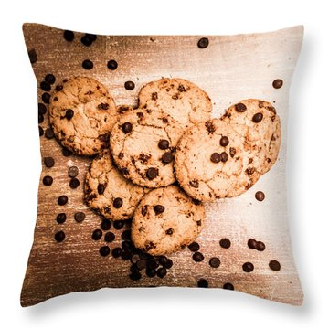 Homemade Biscuits Throw Pillow