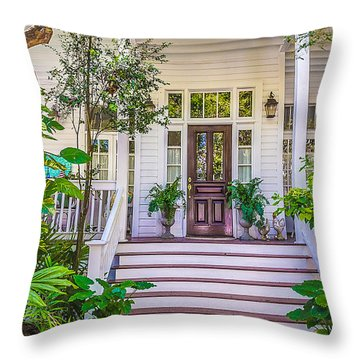 Homes Of Key West 4 Throw Pillow