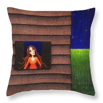 Homesick Throw Pillow