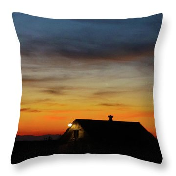 Throw Pillow featuring the photograph Homestead by Angi Parks