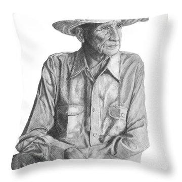 Homesteader Throw Pillow
