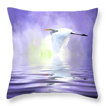 Homeward Bound Throw Pillow by Cyndy Doty