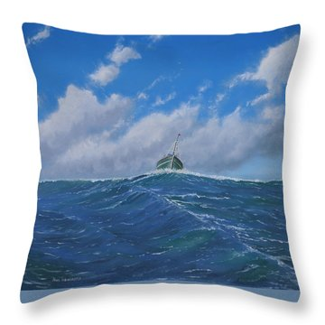 Homeward Bound Throw Pillow by Paul Newcastle