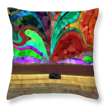 Homeward Bound Throw Pillow by Tim Allen