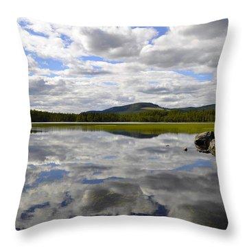 Hon Lake Throw Pillow