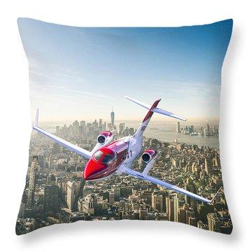 Honda Ha-420 Hondajet Throw Pillow