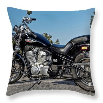 Honda Shadow Throw Pillow
