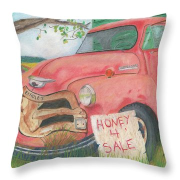 Honey 4 Sale Throw Pillow