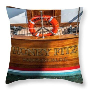 Honey Fitz Throw Pillow