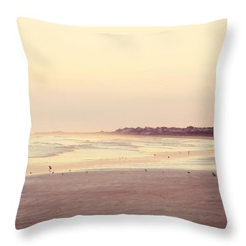 Throw Pillow featuring the photograph Honeymoon by Amy Tyler