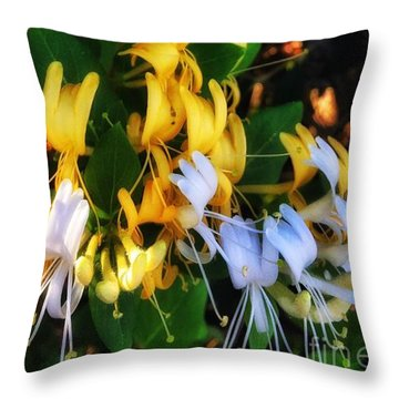 Honeysuckle Sweet Throw Pillow