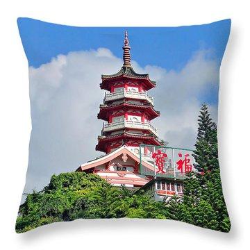 Hong Kong Icon Throw Pillow by Blair Wainman