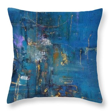 Hong Kong Throw Pillow