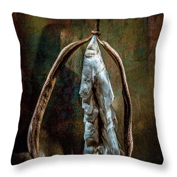 Hong Kong Orchid Seed Pod 1 Throw Pillow