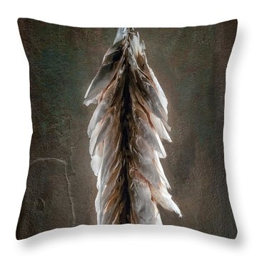 Hong Kong Orchid Seed Pod 2 Throw Pillow