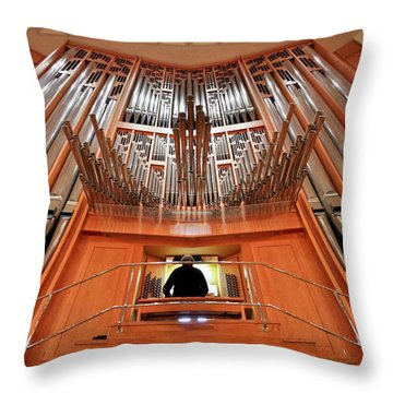 Hong Kong Cultural Centre Throw Pillows
