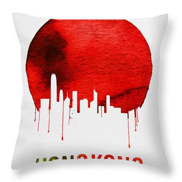 Hong Kong Throw Pillows