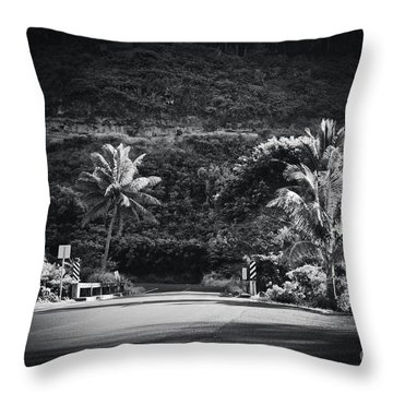 Throw Pillow featuring the photograph Honokohau Maui Hawaii by Sharon Mau