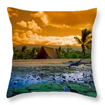 Honokohau Throw Pillow