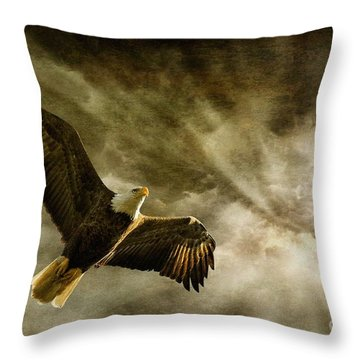 Honor Bound Throw Pillow