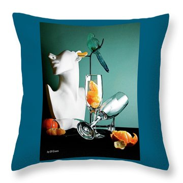 Honor To Karo 3 Throw Pillow