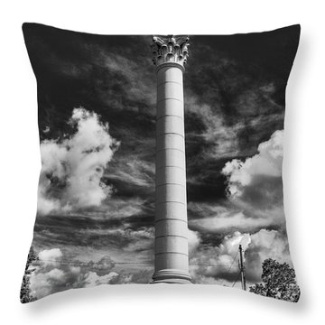 Honoring The Fallen Throw Pillow by Tim Wilson