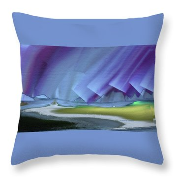 Honoring The Rainbow Throw Pillow