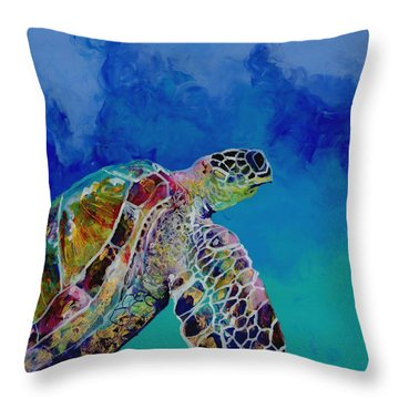 Honu 7 Throw Pillow