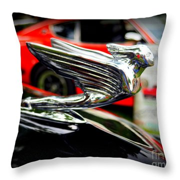Hood Art Throw Pillow