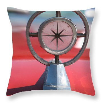 Hood Art Throw Pillow by Kelly Mezzapelle