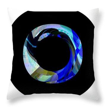 Hood Throw Pillow by Thibault Toussaint