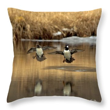 Hoodies Coming In Throw Pillow