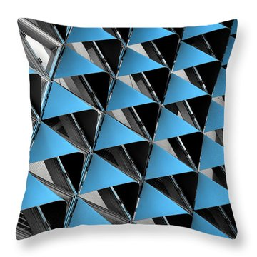 Throw Pillow featuring the photograph Hoodies by Wayne Sherriff