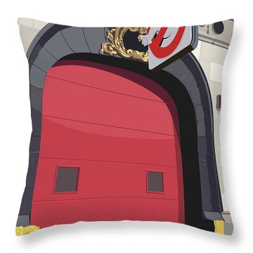 Hook And Ladder No. 8 Throw Pillow