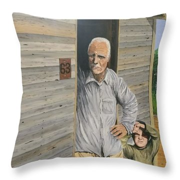 Hooper Ranch #63 Throw Pillow