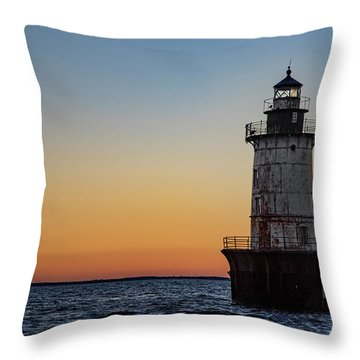 Hoopers Island Sunset Throw Pillow